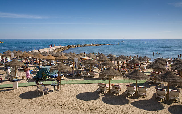 Beaches on the Costa del Sol 2014